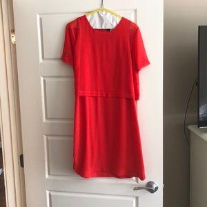 NWOT BCBG crepe silk cocktail dress